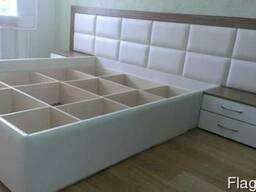 Кровати из экокожи - фото 5