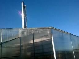 Круглогодичная промышленная теплица 250 кв.м