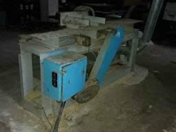 Круглопильный станок для переработки горбыля