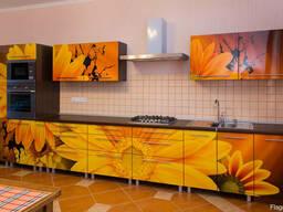 Кухни с фасадом - фотопечать