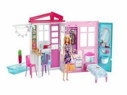 Кукольный домик Mattel Barbie Раскладной домик FXG55