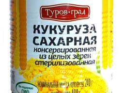 Кукуруза сахарная консервированная