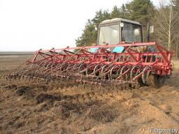 Культиватор навесной для сплошной обработки почвы КНС-6,3-4