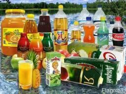 Купим соки, напитки, минеральную воду, пиво