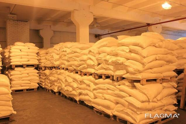 Сахар белый кристаллический свекловичный в мешках по 50 кг. РФ.