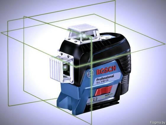 Лазерный нивелир Bosch gll 3-80cg в аренду/прокат