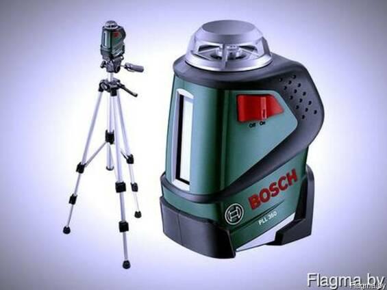 Лазерный нивелир bosch pll360set в аренду/прокат