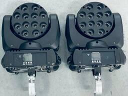 LED-вращающаяся голова Involight LED МН1210В