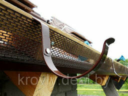 Лента карнизная 100Х5000 мм. (коричневая)