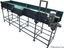 Ленточный конвейер, транспортер для овощей и картофеля