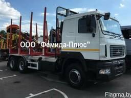 Лесовоз-сортиментовоз МАЗ-631228/Riiko/430л.с/Майман 100S-03