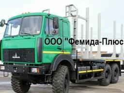 Лесовоз сортиментовоз МАЗ-6317F9-1560 6х6 KESLA/Майман Новый