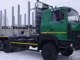 Лесовоз-сортиментовоз МАЗ-6317X9-1444 с Майман 100S-03