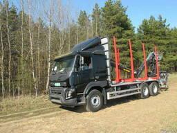 Лесовоз Volvo FMX\ Kesla 2009ST\STS