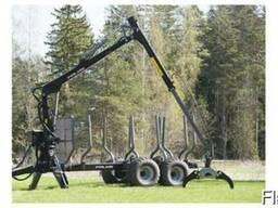 Лесовозная машина 13D с гидроманипулятор 5,72 PALMS