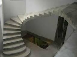 Лестница бетонная монолитная