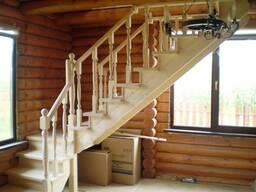 Лестница из дерева - адекватные цены Гродно
