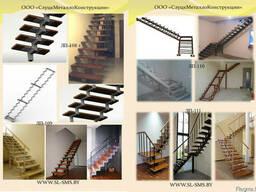 Лестница металлическая внутреняя - фото 2