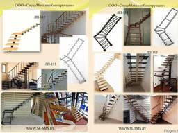 Лестница металлическая внутреняя - фото 3