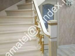 Лестницы из сосны, ольхи