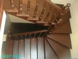 Лестницы из Сосны, Ясеня, Бука, Дуба