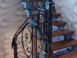 Лестницы, каркасы лестниц, ограждения в Кобрине, Дрогичине