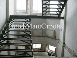 Лестницы. Металлические лестницы лестничные марши