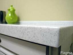 LG Hi-macs G004 White Quartz Акриловый камень