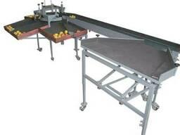 Линия, машина для сортировки и калибровки фруктов и яблок