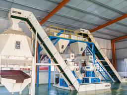 Линия по производству пеллет из биомассы