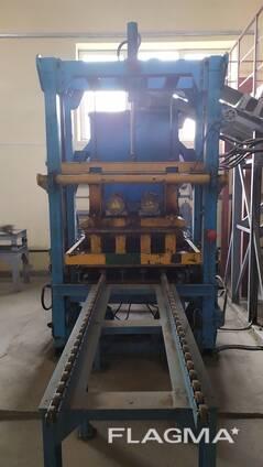 Линия по производству вибропрессованных изделий