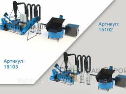 Линия по производству пеллет и кормовых гранул MLG 1500 Combi