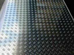 Лист алюминиевый рифленый от 1,5 до 4мм Резка в размер