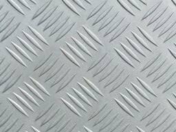 Лист рифленый алюминиевый 1,5х1200х3000, гладкий лист алюмин