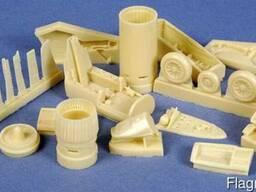 Литье пластмасс в силиконовые формы