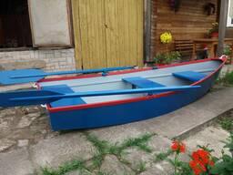Лодка фанерная стеклопластиковая