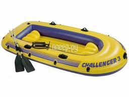 Лодка Intex Challenger-3 Set 68370