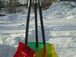 Лопата снеговая желтая