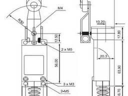 LX-ME/8104 концевой выключатель