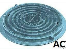 Люк канализационный средний С(В125)-К(В)(Д)1-58ГОСТ 3634-99