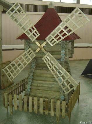 Малые архитектурные формы из дерева
