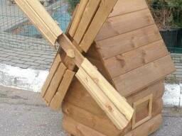 Малые архитектурные формы из импрегнированной древесины