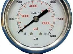 Манометр гидравлический 0 - 600 бар