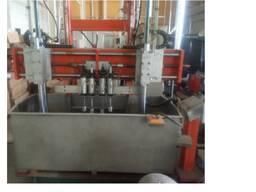 Машина испытания на герметичность внутренних баков водонагревателей