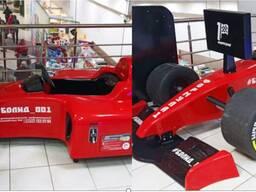 Машинка-болид Formula 1