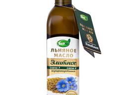 Масло льняное Элитное из семян белого льна