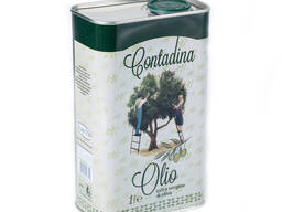 Масло оливковое нераф. для салата, ж/б, 1л/12шт