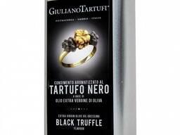Трюфельное масло. с черным трюфелем 1000 мл giuliano tartufl