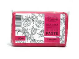 Мастика кондитерская универсальная Criamo розовая 500 гр
