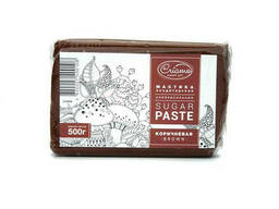 Мастика сахарная Criamo коричневая 500 гр